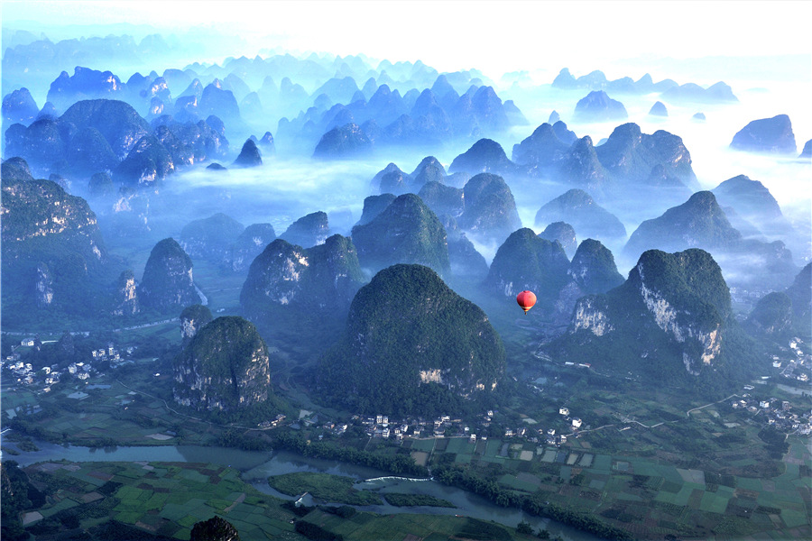 Guilin's scenery is the best under heaven