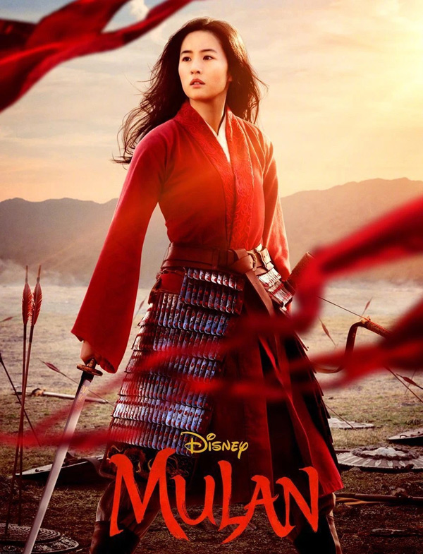 Disney's live-action adaptation of Mulan will be released